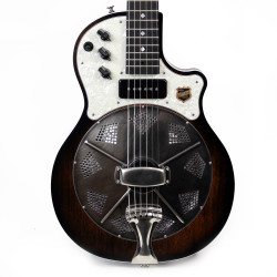 National Resolectric Electric Resonator Guitar in Revolver