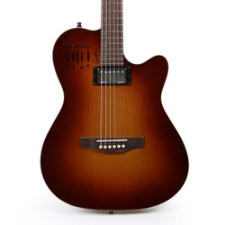 Godin A6 Ultra Acoustic Electric Guitar in Cognac Burst