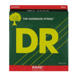 DR RPB-45 Rare Phosphor Bronze Acoustic Bass Guitar Strings .045-.105