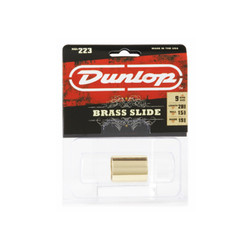 Dunlop 223 Brass Slide Medium Knuckle Medium Wall