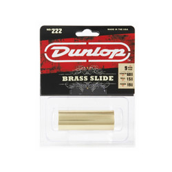 Dunlop 222 Brass Slide 9 Ring Size Medium Wall