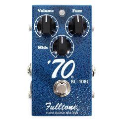 Fulltone 70-BC Fuzz Distortion Guiitar Effects Pedal