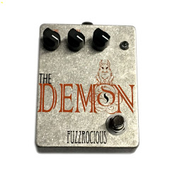 Fuzzrocious Pedals Demon Medium-High Gain Distortion Pedal