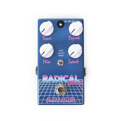 Alexander Pedals Radical Delay 1980's Style Digital Delay Pedal