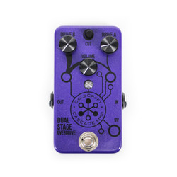Coldcraft Effects Cascade MkII Dual Stage Overdrive Pedal