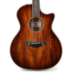 Taylor K24ce AA Top Koa Grand Auditorium Acoustic Electric Guitar in Shaded Edgeburst
