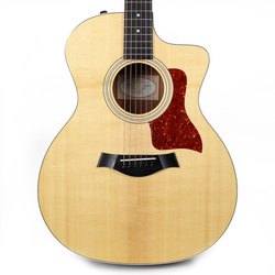 Used Taylor 214ce Grand Auditorium Acoustic Electric Guitar in Natural