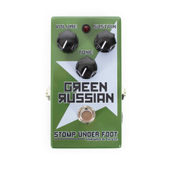 Stomp Under Foot Green Russian Fuzz Pedal