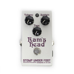 Stomp Under Foot Ram's Head Fuzz Pedal (Violet Version)