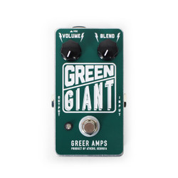 Greer Amps Green Giant Fuzz Pedal