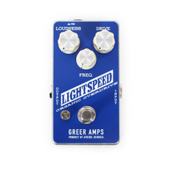 Greer Amps Light Speed Organic Overdrive Pedal