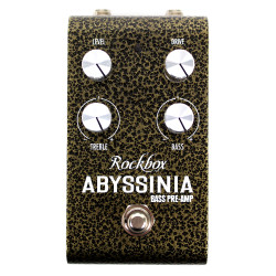 Rockbox Abyssinia Bass Pre-Amp Overdrive Pedal