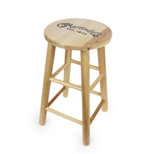 Martin Guitar Acoustic Playeru0027s Wood Barstool Stool 24   sc 1 st  Cream City Music & Martin Guitar Acoustic Playeru0027s Wood Barstool Stool 24