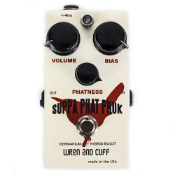 Wren and Cuff Suppa Phat Phuk Boost Guitar Pedal