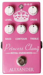 Alexander FX Princess Clang Royal LTD Overdrive Distortion Guitar Pedal