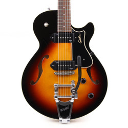 Godin Montreal Premiere HG P90 with Bigsby in Sunburst B-Stock