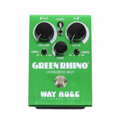 Way Huge Electronics WHE207 Green Rhino MKIV Overdrive Guitar Pedal