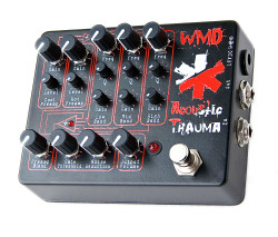 WMD Devices Acoustic Trauma Distortion Machine Guitar Pedal
