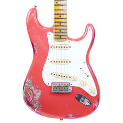 Fender Custom Shop Limited '57 Stratocaster Heavy Relic in Fiesta Red & Pink Paisley