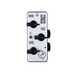 Cusack Music Never Off Series Scruzz Overdrive and Fuzz Guitar Pedal