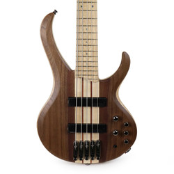 Ibanez BTB Bass Workshop Series 5-String Electric Bass in Natural Flat