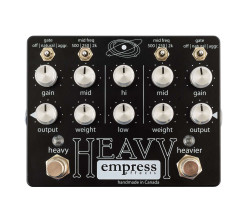 Empress Effects Heavy Dual Drive Distortion Guitar Pedal