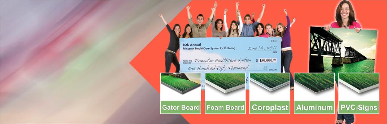 Foam Board Signs