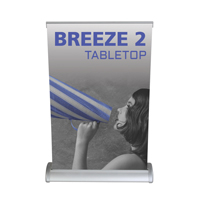 tabletop banner stand37
