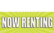 Now Renting Banner Sign 1000