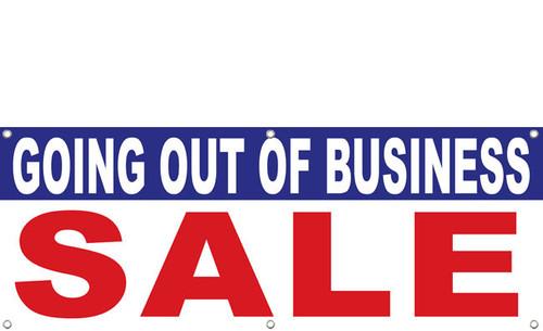 Mattress Blowout Sale Going Out of Business Vinyl Banner Sign Design ID #1300   DPSBanners ...