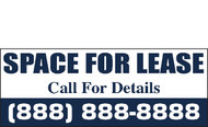 For Lease Banner Sign Vinyl Style 1300