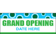 Grand Opening Sign Banner Design 2000