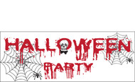 Halloween Banners - Vinyl Signs Style 1500