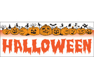 Halloween Banners - Vinyl Signs Style 1700