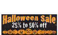 Halloween Banners - Vinyl Signs Style 2800