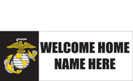 Welcome Home Banners - Signs Style 1900