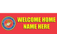 Welcome Home Banners - Signs Style 1200