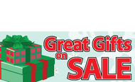 Gifts On Sale Banners - Signs Style 3100