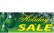 Green Holiday Sale Sign style 3900