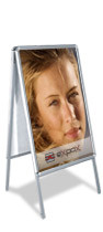Doublesided Poster Display Stand Ps2 Dpsbanners Com