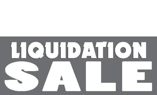 Liquidation Sale Vinyl Banner style 1700