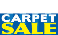 Carpet Sale Banner Sign