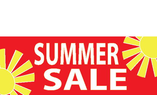 Summer Sale Banner Design ID#1200 | DPSBanners.com