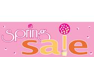 Spring Sale Banner 1100