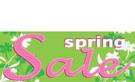 Spring Sale Banner 1300