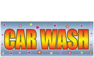 Car Wash Business Banner Sign