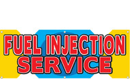 Fuel Injection Service Banner Sign