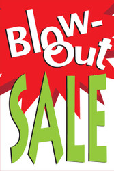 Blowout Sale Posters Style1100