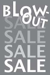 Blowout Sale Posters Style1200