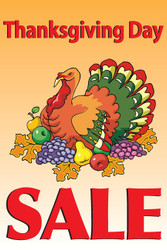 Thanksgiving Sale Posters Style1000